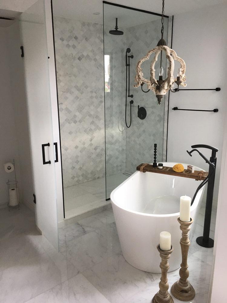 Modern Bathroom Vanity With Austrian Laminate And Quartz Countertop Full Bathroom Renovation